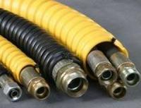 Термопластиковая абразивостойкая защитная спираль для РВД