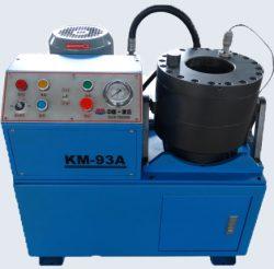 Станок-пресс для обжима металлорукавов KM-93A